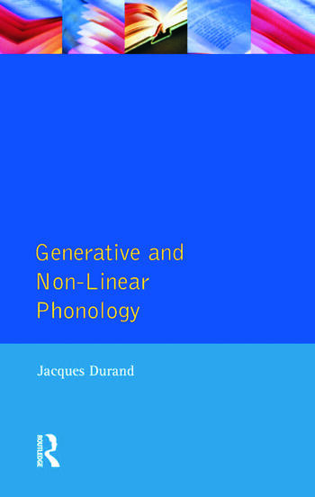 Generative and Non-Linear Phonology book cover