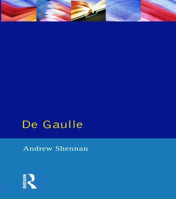 De Gaulle book cover