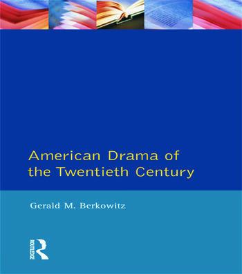 American Drama of the Twentieth Century book cover