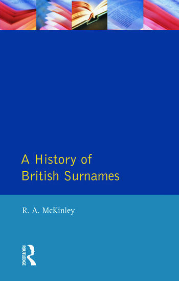 A History of British Surnames book cover