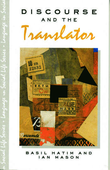 Discourse and the Translator book cover