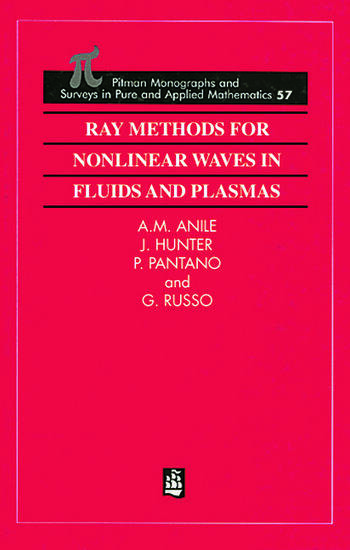 Ray Methods for Nonlinear Waves in Fluids and Plasmas book cover