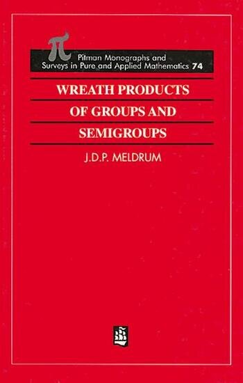 Wreath Products of Groups and Semigroups book cover
