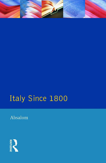 Italy Since 1800 A Nation in the Balance? book cover