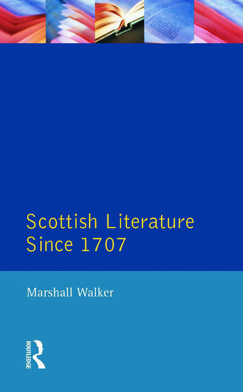Scottish Literature Since 1707 book cover