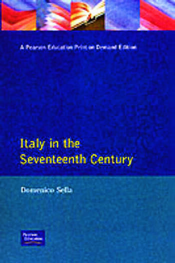 Italy in the Seventeenth Century book cover