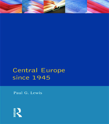 Central Europe Since 1945 book cover
