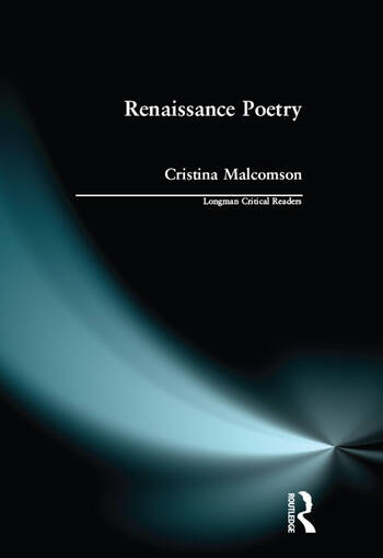 Renaissance Poetry book cover