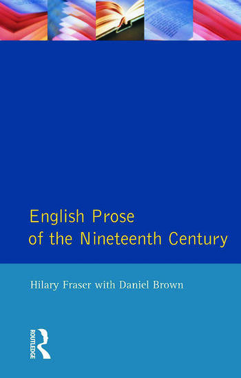 English Prose of the Nineteenth Century book cover