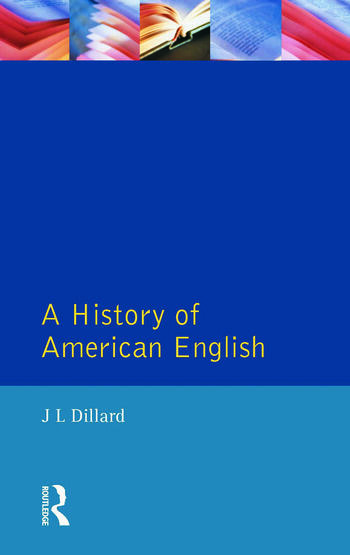 A History of American English book cover