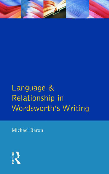 Language and Relationship in Wordsworth's Writing book cover