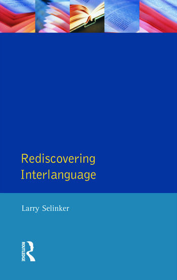 Rediscovering Interlanguage book cover