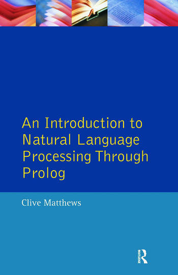 An Introduction to Natural Language Processing Through Prolog book cover