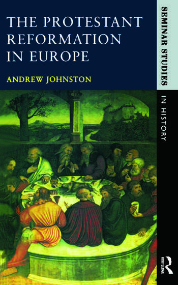 The Protestant Reformation in Europe book cover