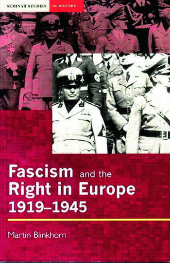Fascism and the Right in Europe 1919-1945 book cover