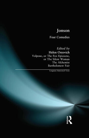 Ben Jonson Four Comedies book cover