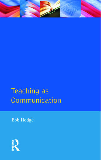 Teaching as Communication book cover