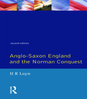 Anglo Saxon England and the Norman Conquest book cover