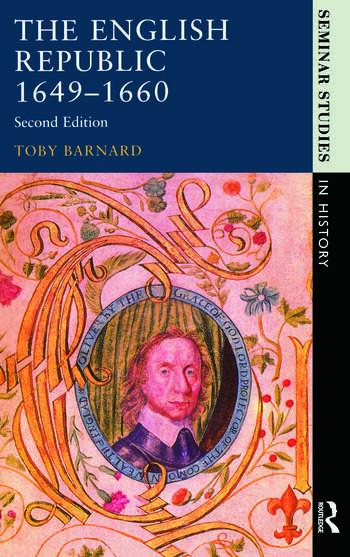 The English Republic 1649-1660 book cover