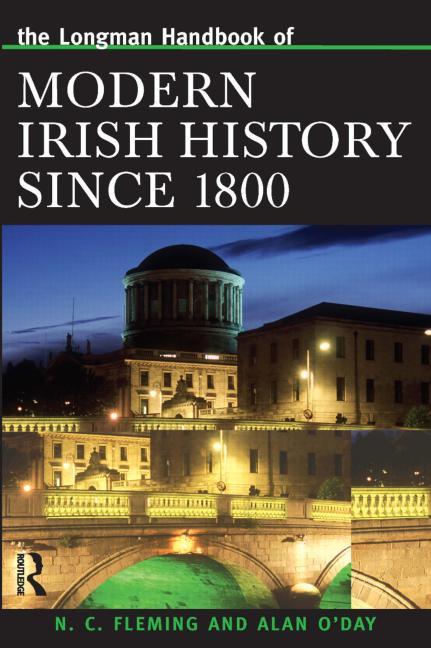 Longman Handbook of Modern Irish History Since 1800 book cover
