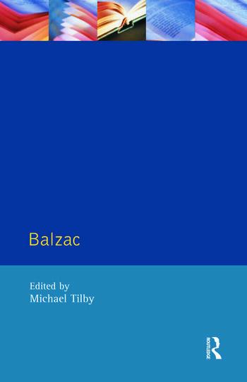 Balzac book cover