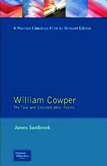 William Cowper The Task and Selected Other Poems book cover