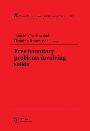 Free Boundary Problems Involving Solids book cover