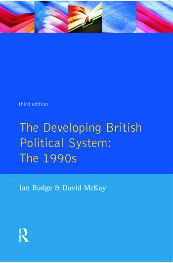 The Developing British Political System The 1990s book cover