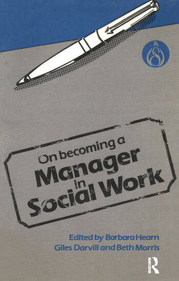 On Becoming a Manager in Social Work book cover