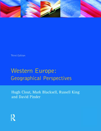 Western Europe Geographical Perspectives book cover