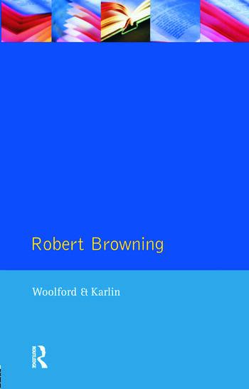 Robert Browning book cover