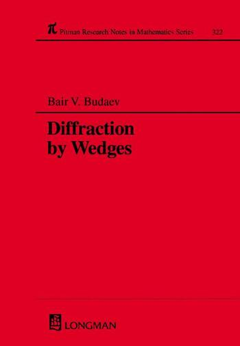 Diffraction by Wedges book cover
