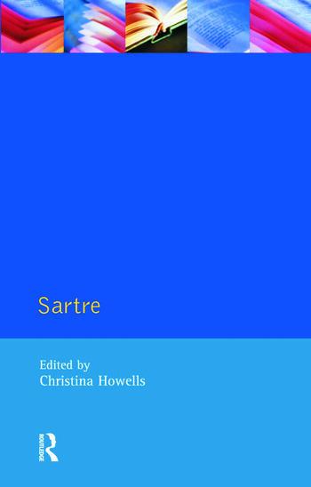 Sartre book cover