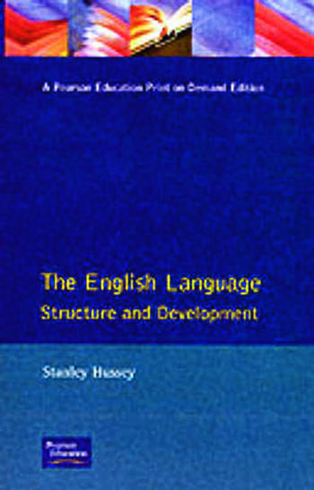 The English Language Structure and Development book cover