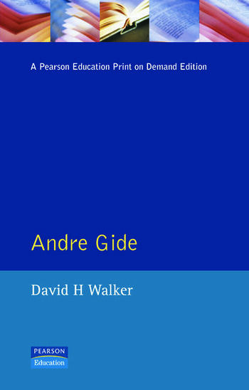 Andre Gide book cover