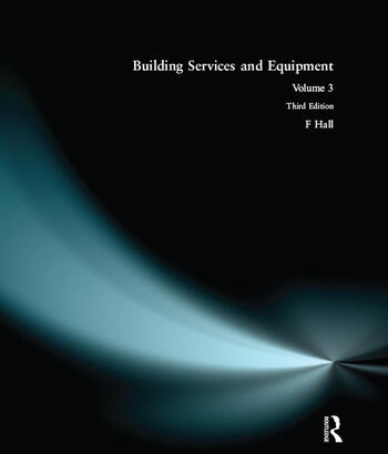 Building Services and Equipment Volume 3 book cover