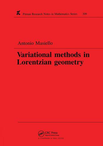 Variational Methods in Lorentzian Geometry book cover