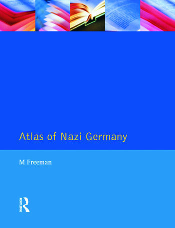 Atlas of Nazi Germany book cover