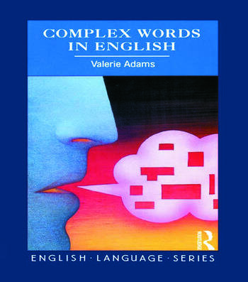 Complex Words in English book cover