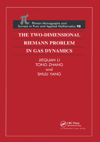 The Two-Dimensional Riemann Problem in Gas Dynamics book cover