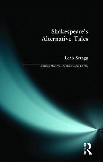 Shakespeare's Alternative Tales book cover