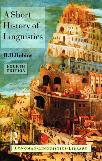 A Short History of Linguistics book cover