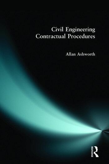 Civil Engineering Contractual Procedures book cover