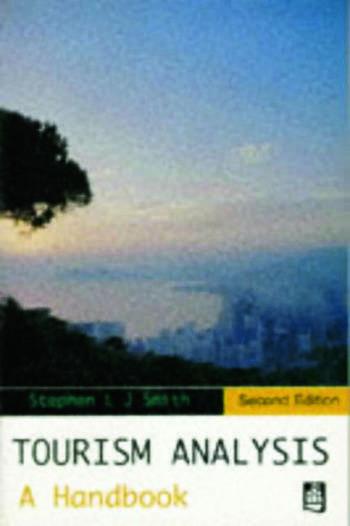 Tourism Analysis A Handbook book cover