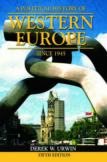 A Political History of Western Europe Since 1945 book cover
