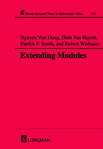 Extending Modules book cover