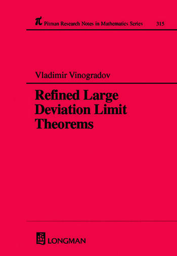 Refined Large Deviation Limit Theorems book cover