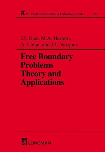Free Boundary Problems Theory and Applications book cover