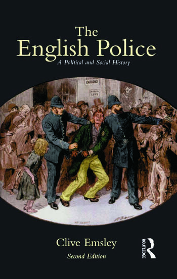 The English Police A Political and Social History book cover