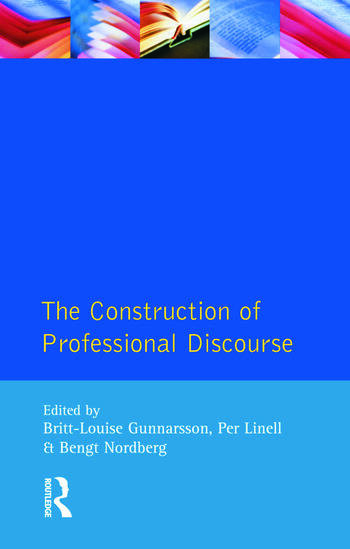 The Construction of Professional Discourse book cover